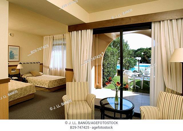 Room in Hotel La Costa. Catalonia, Spain