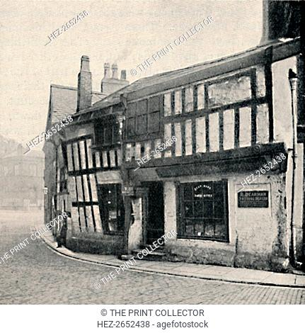 'Poet's Corner: A Bit of Old Manchester', 1903. From Social England, Volume III, edited by H.D. Traill, D.C.L. and J. S. Mann, M.A