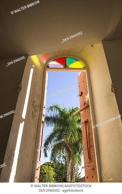 U. S. Virgin Islands, St. Thomas, Charlotte Amalie, Frederik Lutheran Church, interior