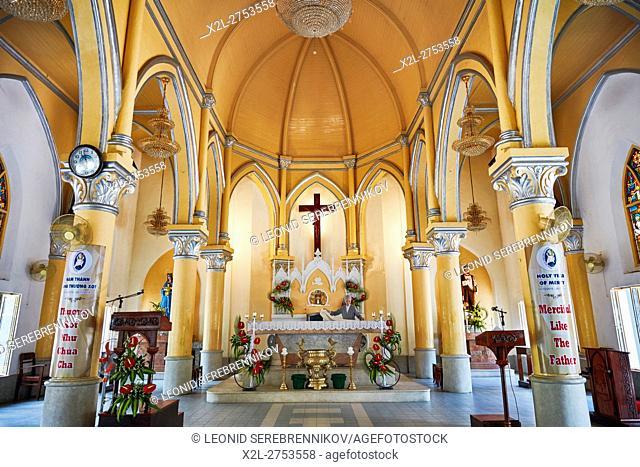 Da Nang Cathedral (Basilica of the Sacred Heart of Jesus), Da Nang city, Vietnam