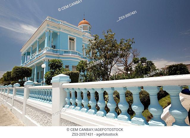 Palacio Azul; Blue Palace, Cienfuegos, Cuba, Central America