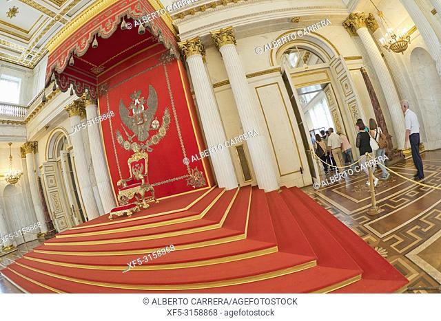 Winter Palace, Hermitage Musseum, Saint Petersburg, UNESCO World Heritage, Russia