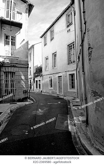Street in Avignon. Vaucluse. France. Europe