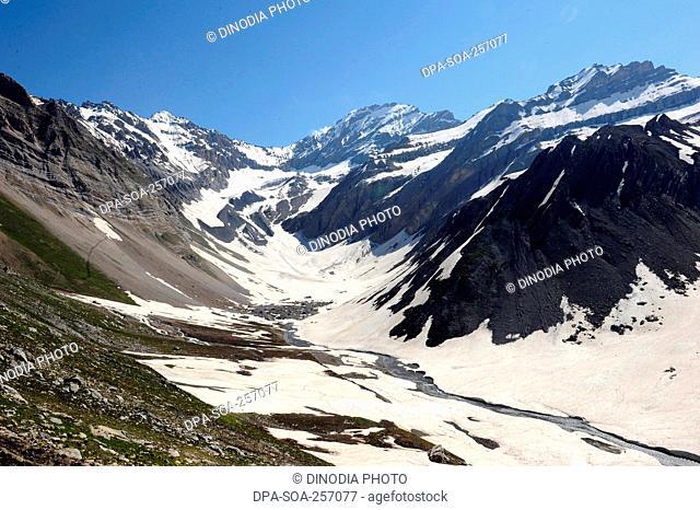 landscape, amarnath yatra, Jammu Kashmir, India, Asia
