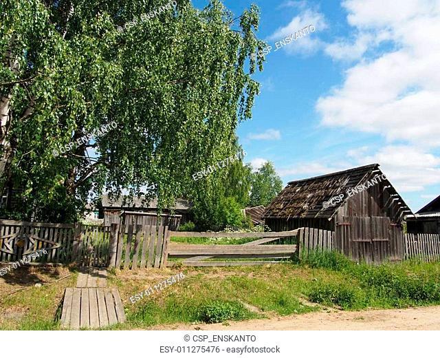 village summer