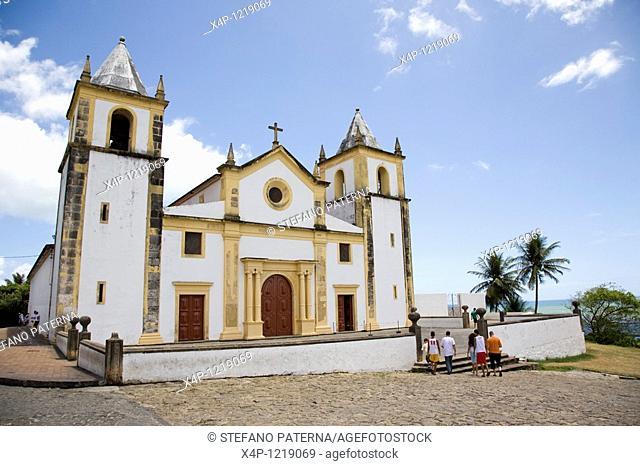 Igreja da Se, Olinda. Near Recife, Brazil