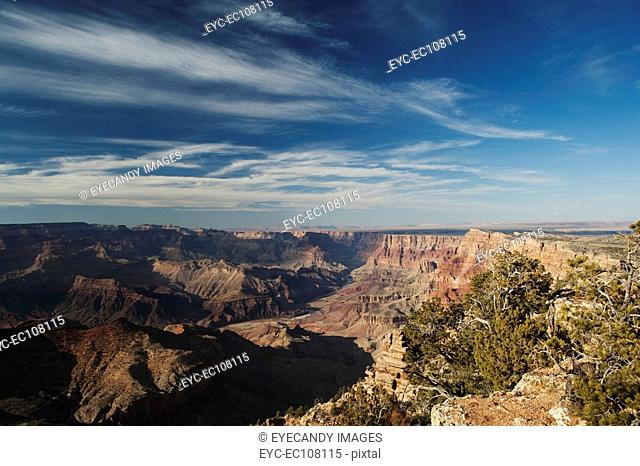 Rock formation in Grand Canyon