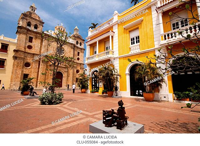 Church and Convent of San Pedro Claver, Cartagena, Bolivar, Colombia