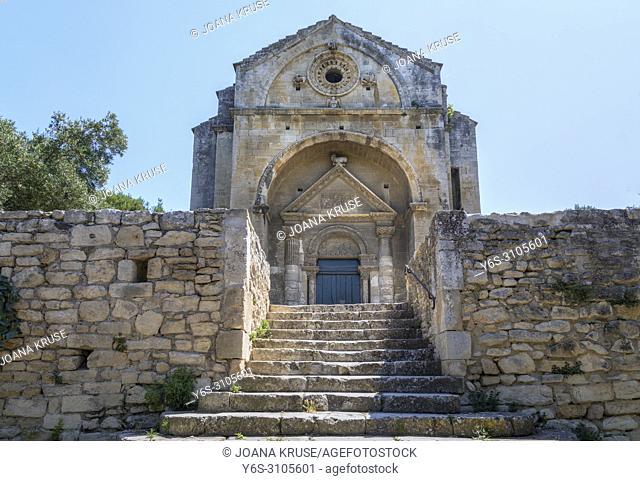 Chapelle Saint-Gabriel de Tarascon, Tarascon, Bouches-du-Rhone, Provence, France