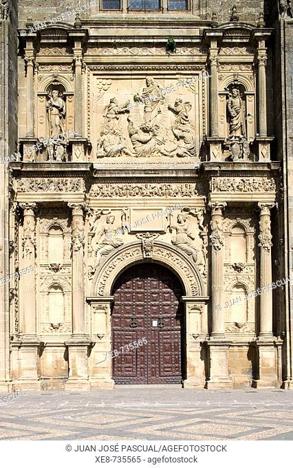 Church of the Salvador (16th century), Ubeda. Jaen province, Andalucia, Spain