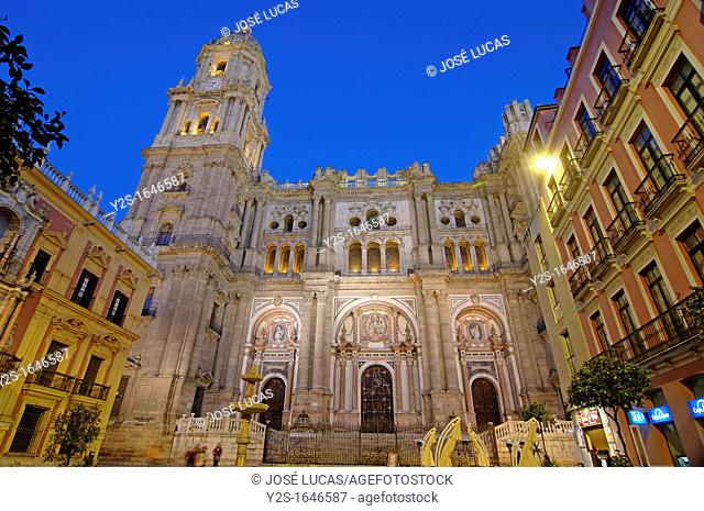 Cathedral, Malaga, Spain