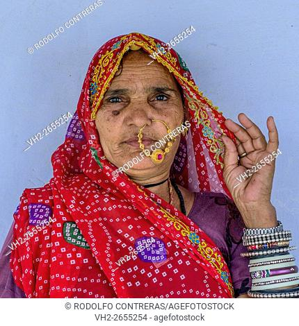Worker at Barefoot College in Tilonia, Rajasthan