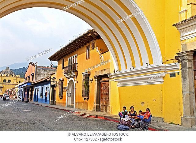 Santa Catalina Arch. Antigua. Guatemala. Guatemala