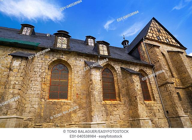 Stolberg church in Harz mountains of Germany