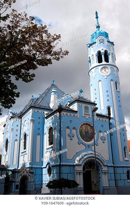 Blue Church, Church of St  Elizabeth, Bratislava, Slovakia