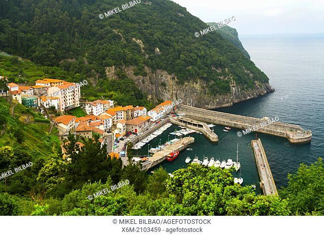 Elantxobe, Biscay, Basque Country, Spain
