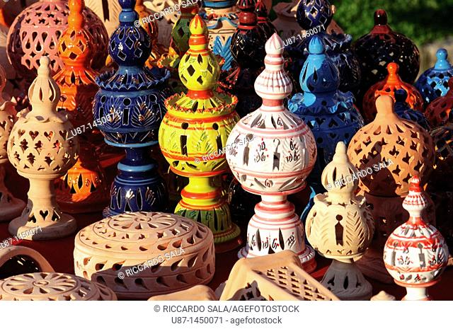 Tunisia, Traditional Pottery