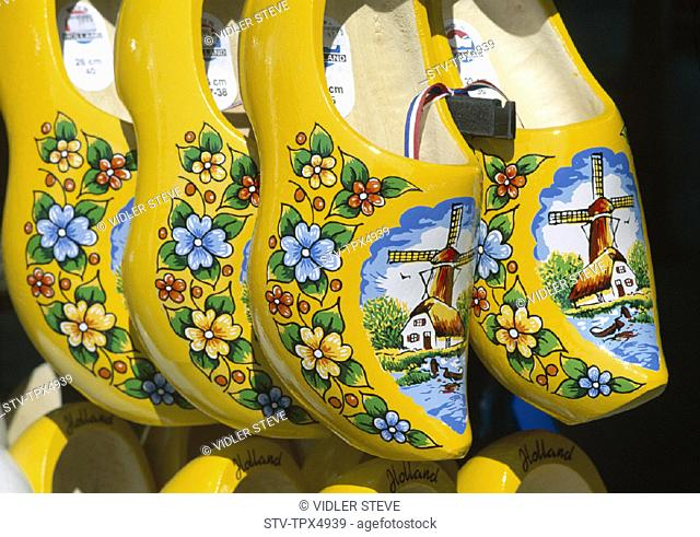 Amsterdam, Clogs, Holiday, Holland, Europe, Landmark, Netherlands, Tourism, Travel, Vacation