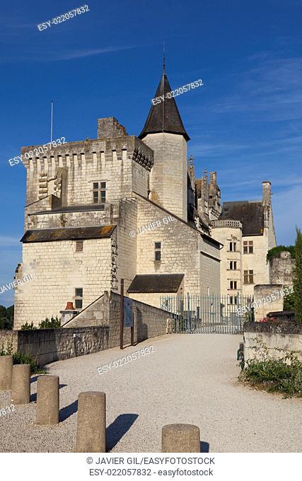 Castle of Montsoreau, Maine-et-Loire, Pays de la Loire, France