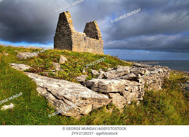 Teampall Bheanain dates from the 11th Century, and was probably the oratory of a hermit,