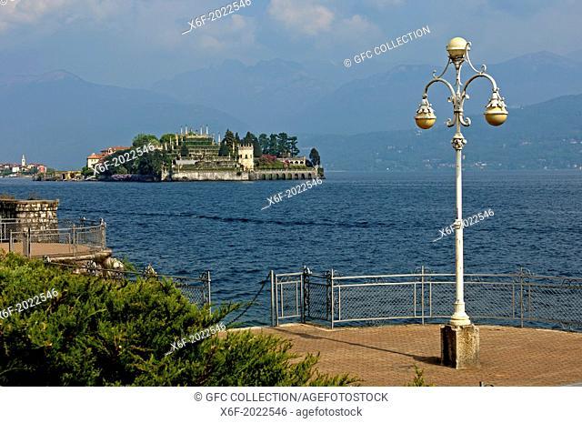 Isola Bella island, Borromean Islands, Stresa, Lago Maggiore lake, Piedmont, Italy