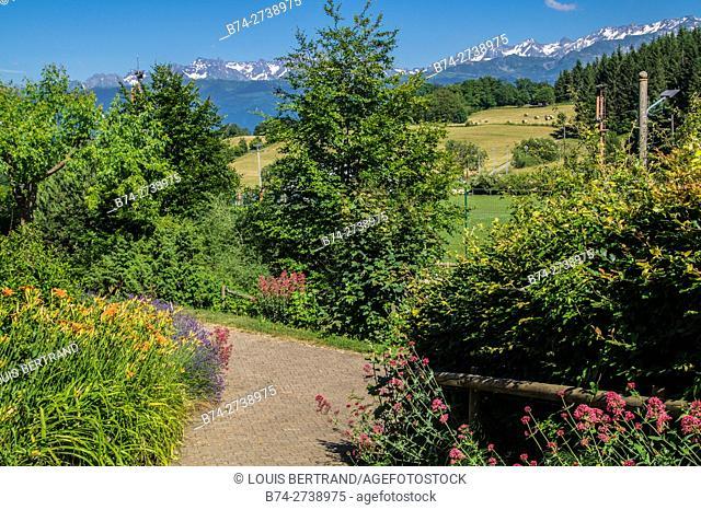mountainous of belledone,isere,france