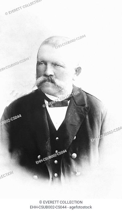 Alois Hitler, Sr. was a successful Austrian civil servant and the father of Adolf Hitler. He was born to a 42-year-old unmarried peasant
