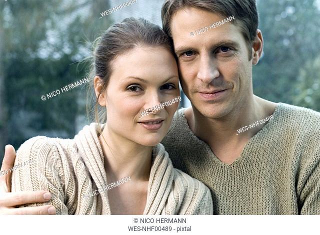 Portrait of lovers