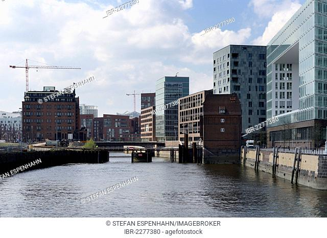 Office building of the germanischer lloyd Stock Photos and