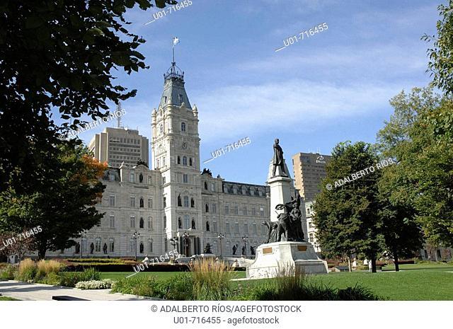 Parliament building. Quebec City. Quebec. Canada