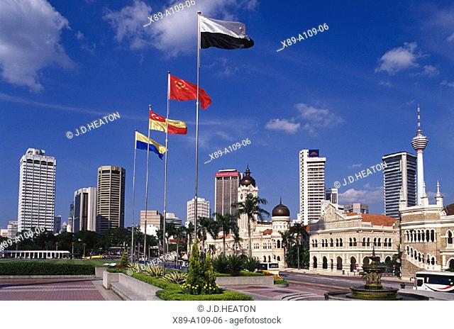 Kuala Lumpur, Merdeka Square, Malaysia