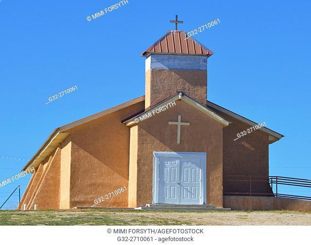 Holy Child church, Cebolla, NM (Catholic), USA