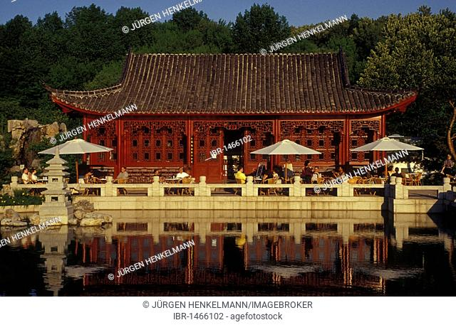 Marzahn public park, Gardens of the World, Chinese Garden, Berlin Marzahn, Berlin, Germany, Europe