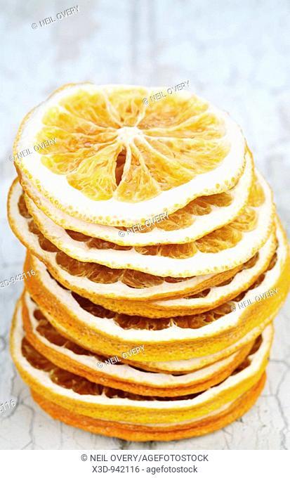 Dried Orange rind