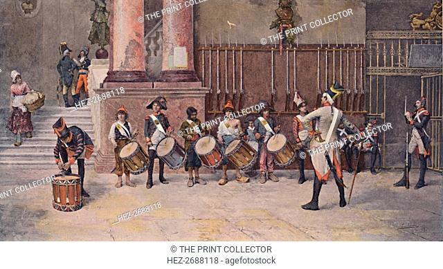 'The Drummers of the Republic', 1896. Artist: Unknown