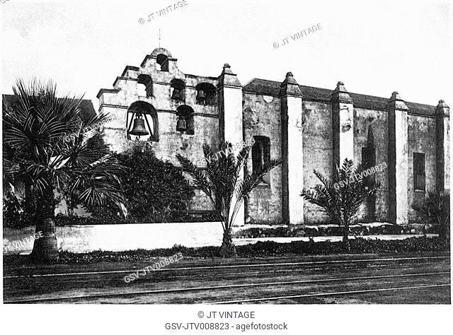 mission, San Gabriel, architecture, church, historical