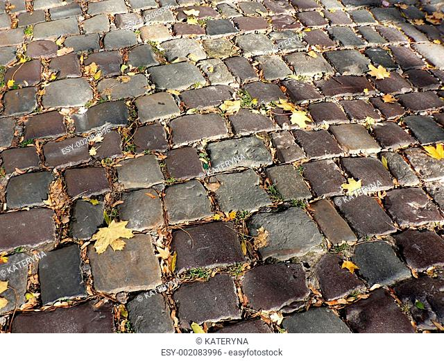 Autumn block-stone