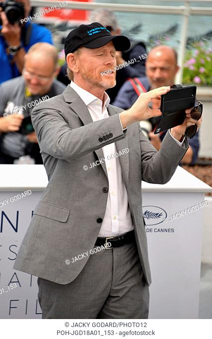 Ron Howard Photocall 'Solo: A Star Wars Story' 71st Cannes Film Festival May 15, 2018 Photo Jacky Godard
