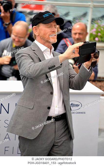 Ron Howard Photocall 'Solo: A Star Wars Story' 71st Cannes Film Festival May 15, 2018 Photo Jacky Godard