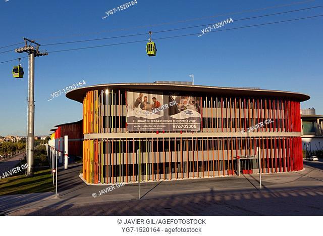 Expozaragoza pavilion, Zaragoza, Aragon, Spain