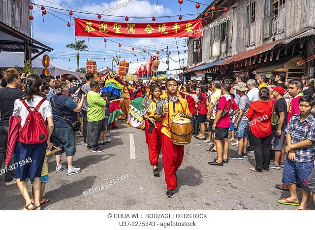 Chinese New Year Festival Capgomeh year 2019 15th day of the 1st month at Siniawan, Sarawak, Malaysia