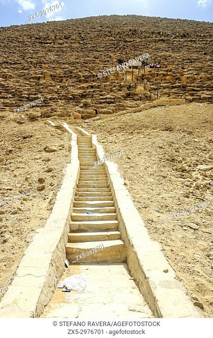 Snofru's Red Pyramid - Royal necropolis of Dahshur, Lower Egypt