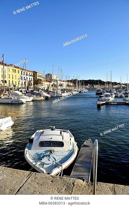 France, Pyrenees Orientales, Port Vendres, Harbour