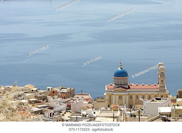 Agios Nikolaos Church, Ermoupolis, Syros, Cyclades, Greece
