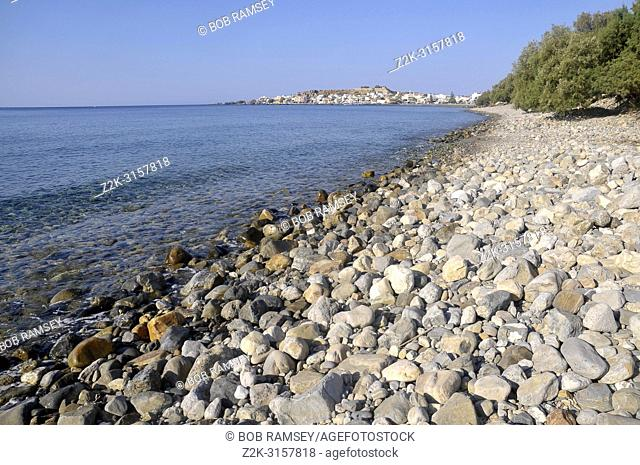 St Jean beach in south of Crete, Greece