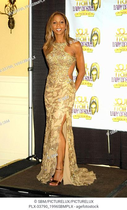 Holly Robinson Peete, at the 9th Annual Soul Train Lady of Soul Awards held at Pasadena Civic Auditorium, Pasadena, CA on 8/23/2003 File Reference #...