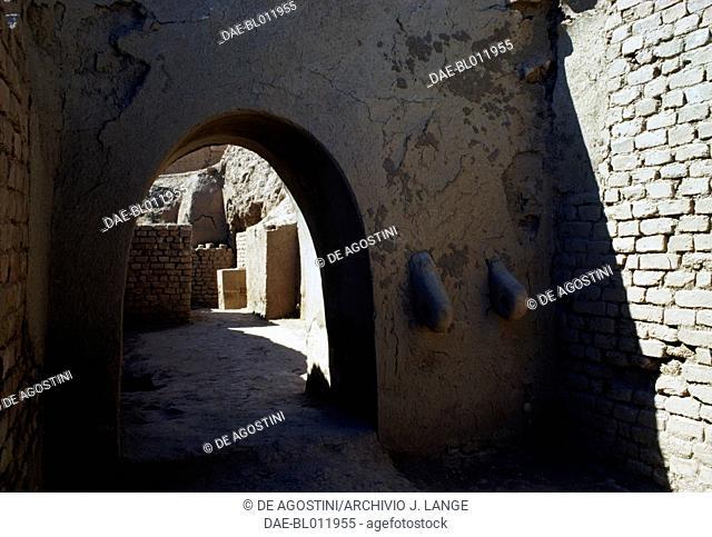 Ziggurat in the Chogha Zanbil complex (Unesco World Heritage List, 1979), Iran. Elamite civilisation, 13th century BC