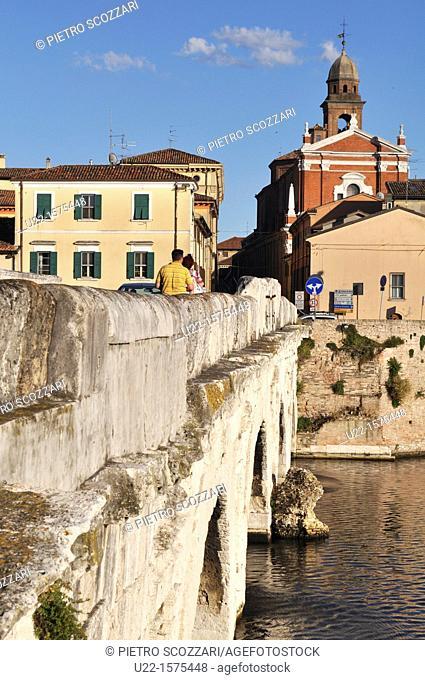 Rimini (Italy): Ponte di Tiberio