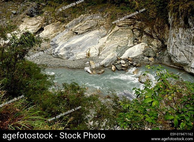 Liwu Fluss im Taroko Nationalpark