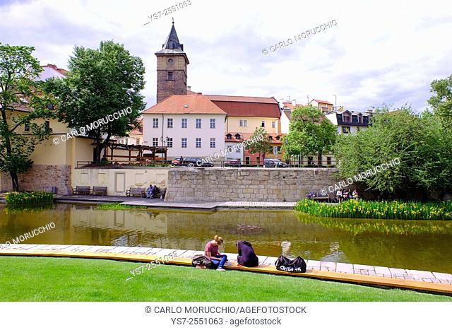 Pallova street Gardens, Pilsen, Western Bohemia, Czech Republic